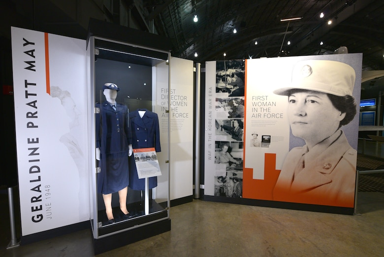 Women in the Air Force Exhibit