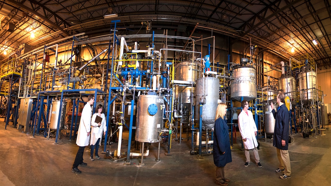 Biomass to Bioproducts Pilot Plant