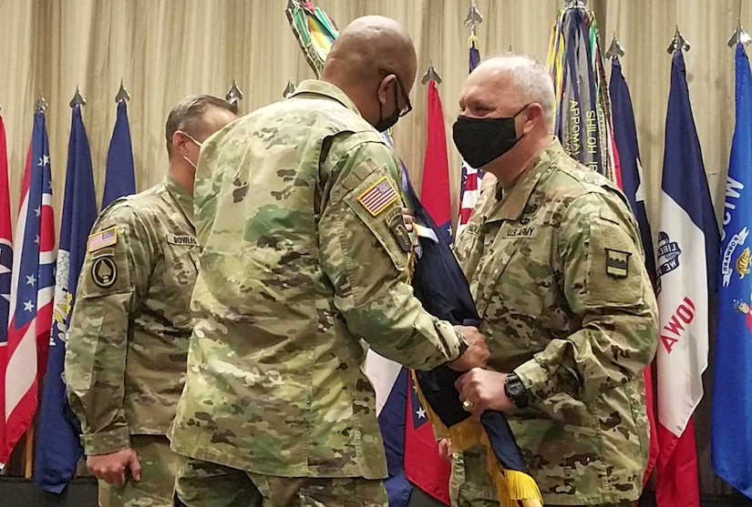 U.S. Army Reserve Two-Star General retires with honor