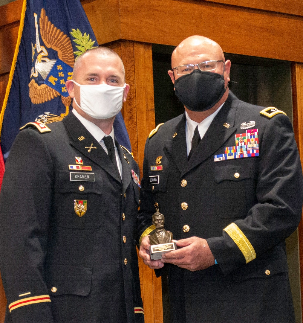 Lt. Col. Justin Kramer, of Lone Rock, Wisconsin