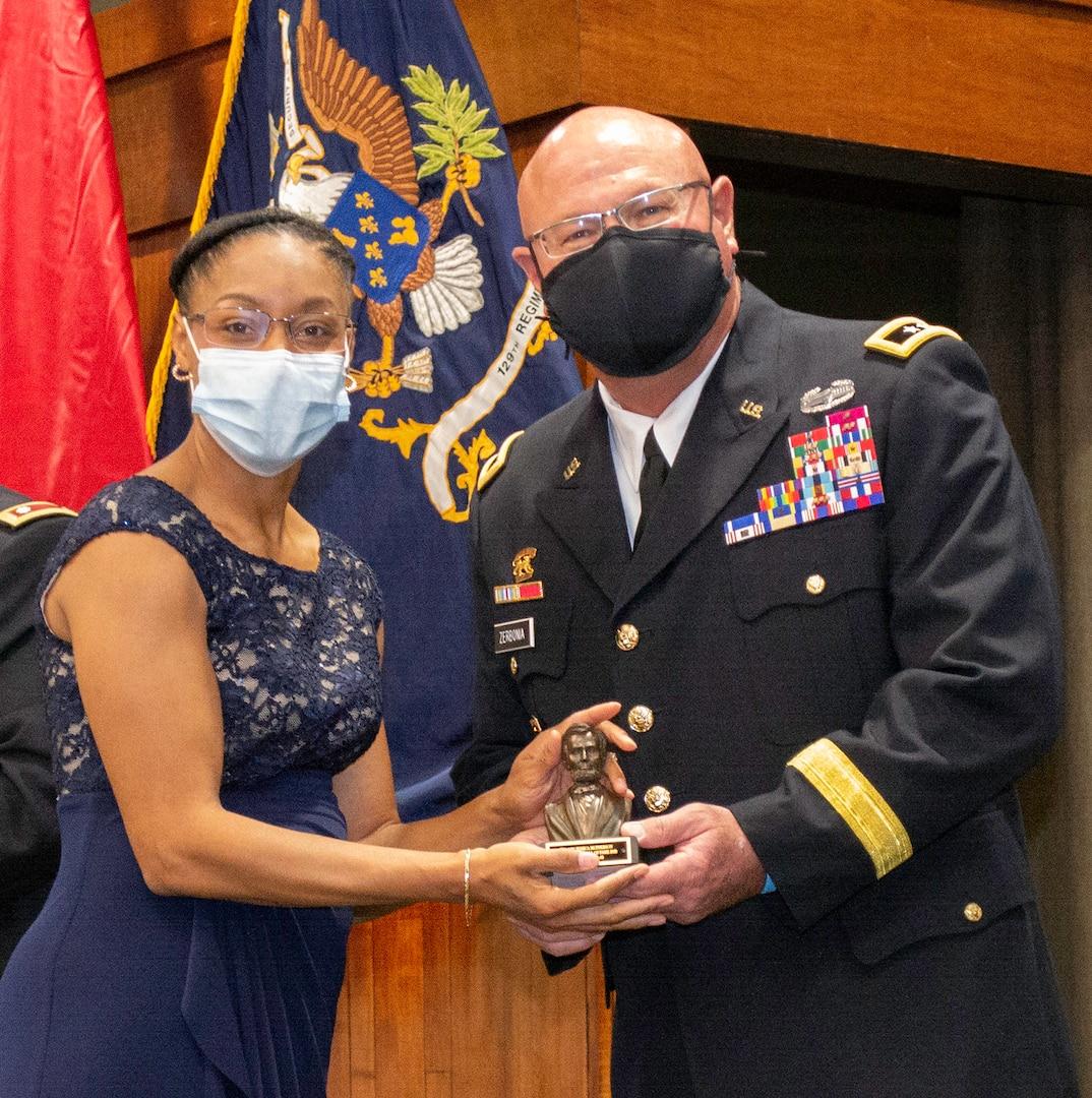 Lt. Col. Jessica McPherson, of Springfield, Illinois