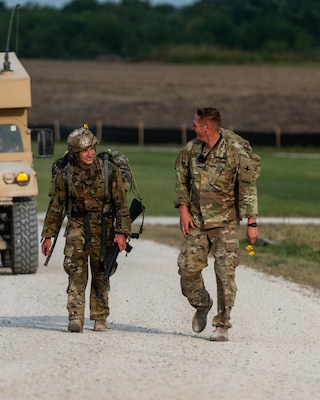 Staff Sgt. Anthony Miller, 2nd Battalion, 130th Infantry Regiment, Illinois Army National Guard