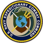 Official command seal of Navy Expeditionary Combat Command