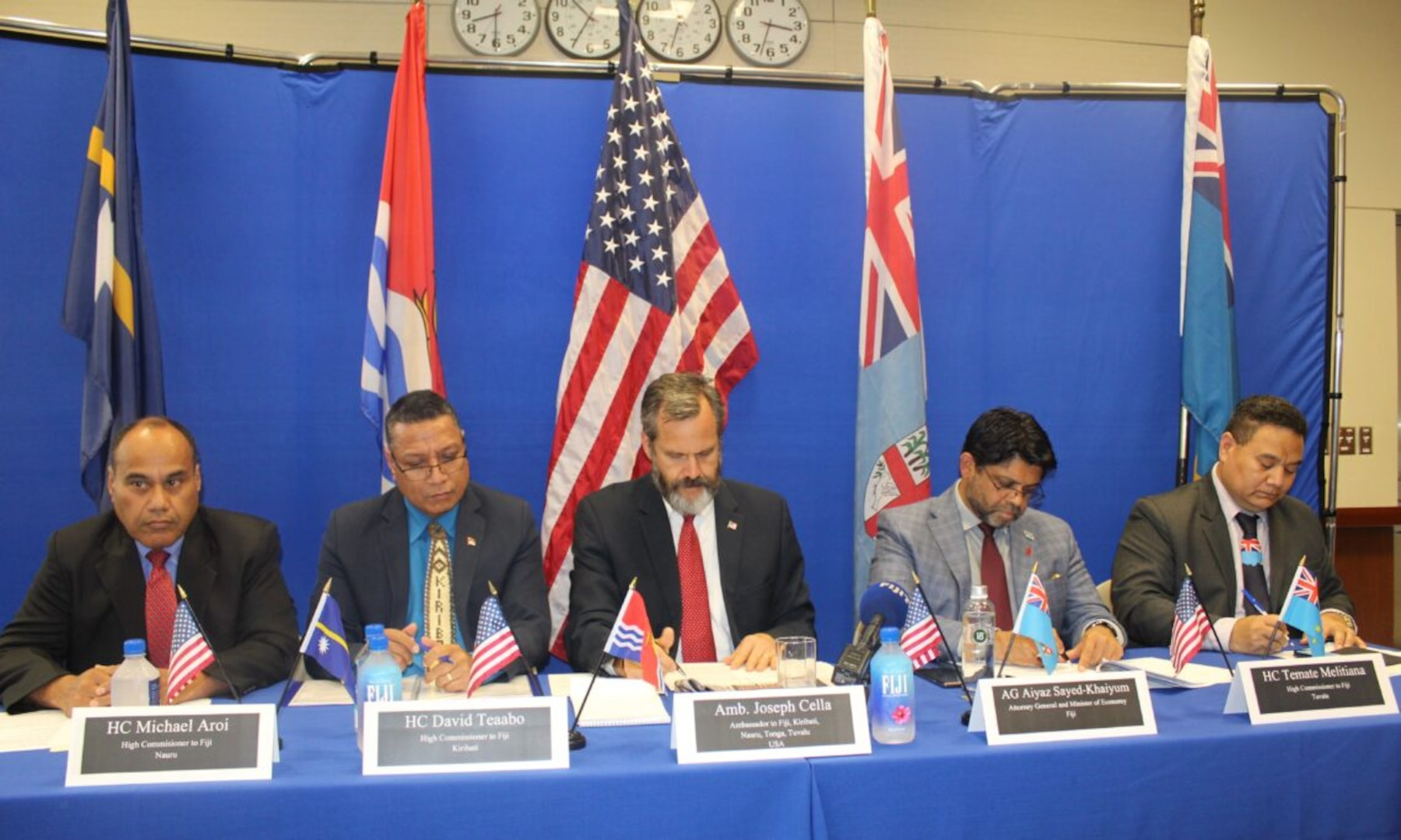 Ambassador Cella Leads Pacific Panel for Indo-Pacific Business Forum