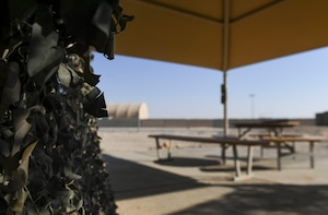 A newly created sacred space can now be reserved for service members who practice Wicca and Earth-based religions at Ali Al Salem Air Base, Kuwait, Oct. 26, 2020.