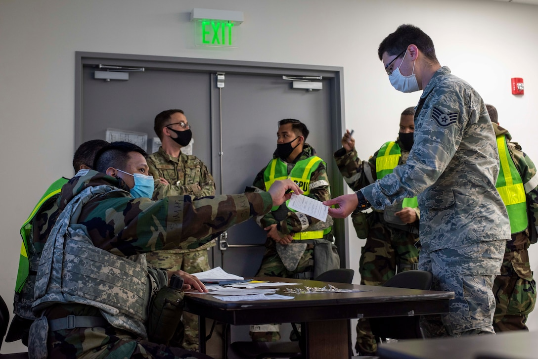 Airmen showcase capabilities, readiness in wing-wide exercise
