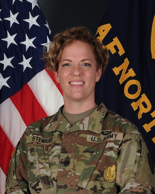 Command Sergeant Major Julie Steward