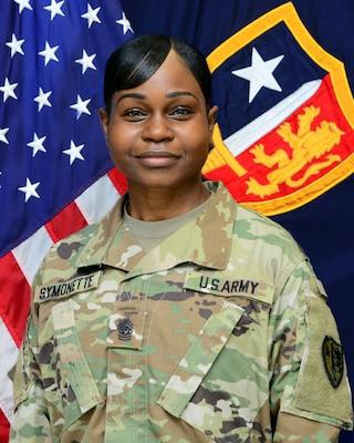 Command Sergeant Major Yveline Symonette