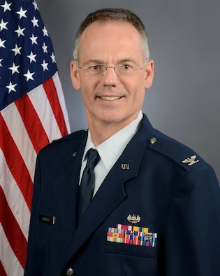 Portrait of U.S. Air Force Col. Karl Bowers, the Staff Judge Advocate for Joint Forces Headquarters at McEntire Joint National Guard Base, South Carolina Air National Guard, Feb. 3, 2019. (U.S. Air National Guard photo by Master Sgt. Caycee Watson)