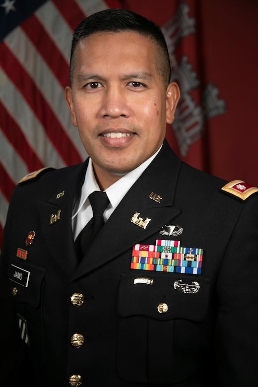 Lt. Col. Reginald Jamo, Deputy District Commander,