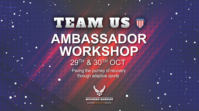 The AFW2 Program hosted a two-day virtual ambassador workshop, October 29-30, for Team U.S. athletes who will be competing at the 2021 Invictus Games in The Hague. The AFW2 outreach team facilitated the workshop, delivering guided instruction on how adaptive sports has positively influenced the athletes' journey of recovery. The workshop provided the Warriors the tools they needed to share their personal stories with confidence and professionalism.