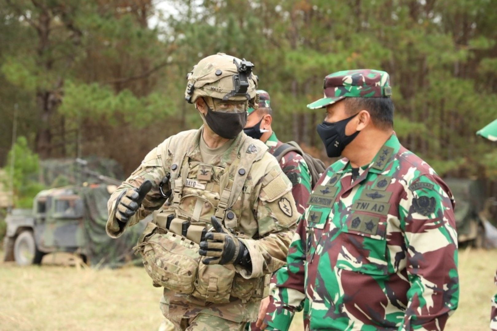 Soldiers ensure overseas training, readiness continue amid pandemic