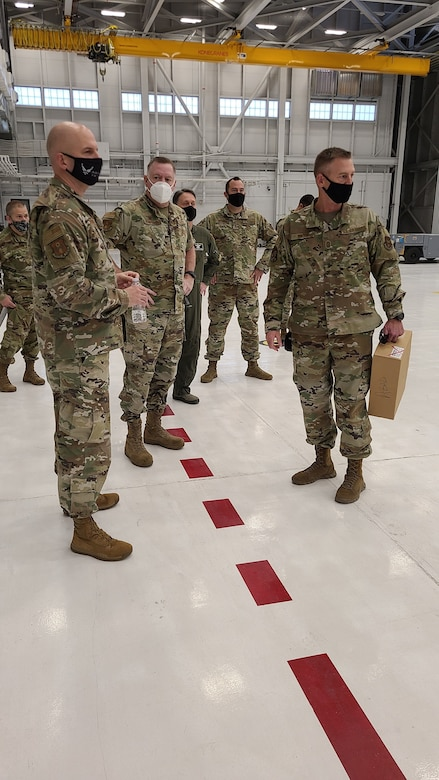 A Site Activation Task Force visits the 926th Wing Oct. 27-29, to help plan significant growth within wing, at Nellis Air Force Base, Nev.