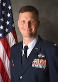 Col. James G. Young, 317th Airlift Wing Commander, command photo.