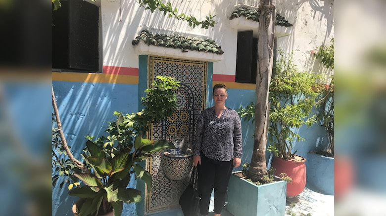 Photo taken in the old city of Rabat, Morocco, in the summer of 2018. Courtesy of Dr. Kristin Hissong.
