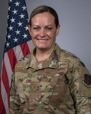 Missouri National Guard command photo for Chief Master Sergeant Jessica L. Settle