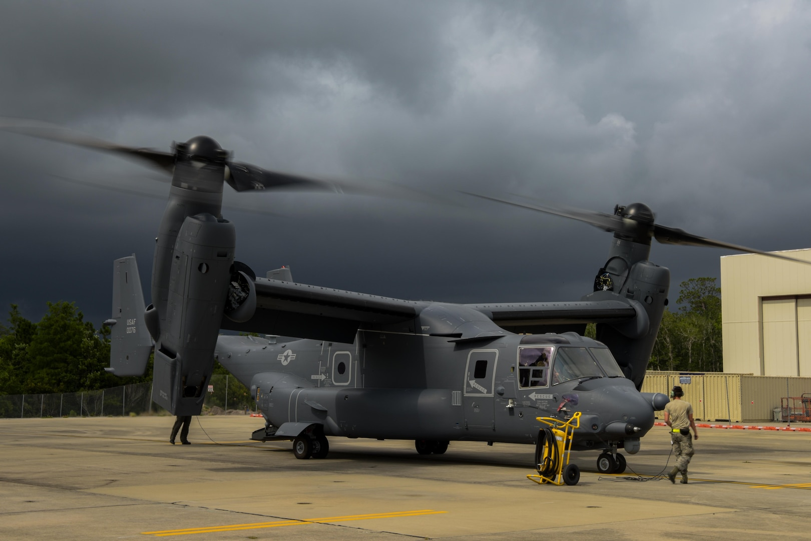 First delivery of new CV-22