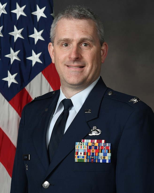 Col. Michael H. Larson's official bio