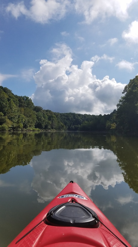 Kayaking at Rough River Lake