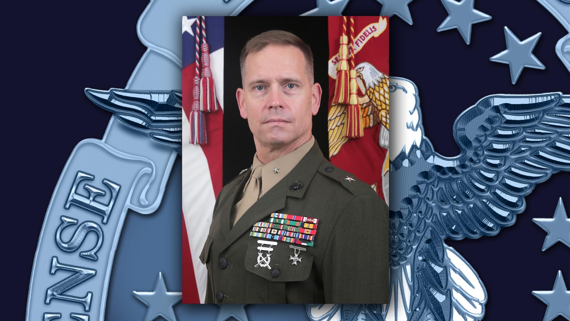 Marine Corps Brig. Gen. Keith D. Revntlow