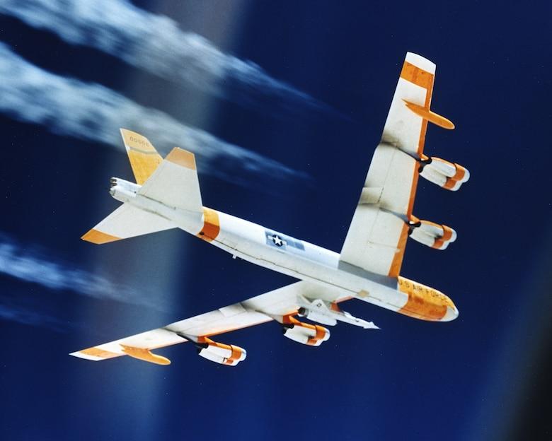Hound Dog missile in flight