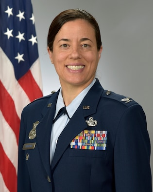 Colonel Melissa Youderian is the Commander, United States Air Force Academy Preparatory School, USAF Academy, Colorado. (U.S. Air Force photo)