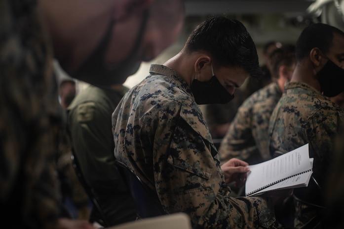 Crisis response: CLB-31, 31st MEU prepare NCO's to lead the way
