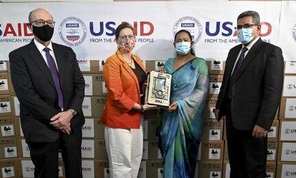The United States Donates 200 Ventilators to Support Sri Lanka's Response to COVID-19