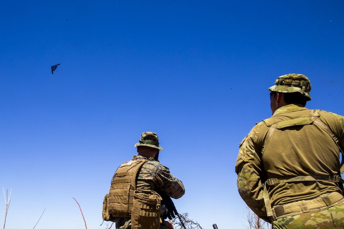 Increasing interoperability: B-2s, B-1s join US Marine Corps, Australian Defence Forces in combined exercise
