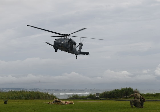 Joint Air Force and Marine Corps FARP training.