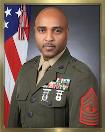 Legal Services Chief, Master Gunnery Sergeant Maxwell Williams