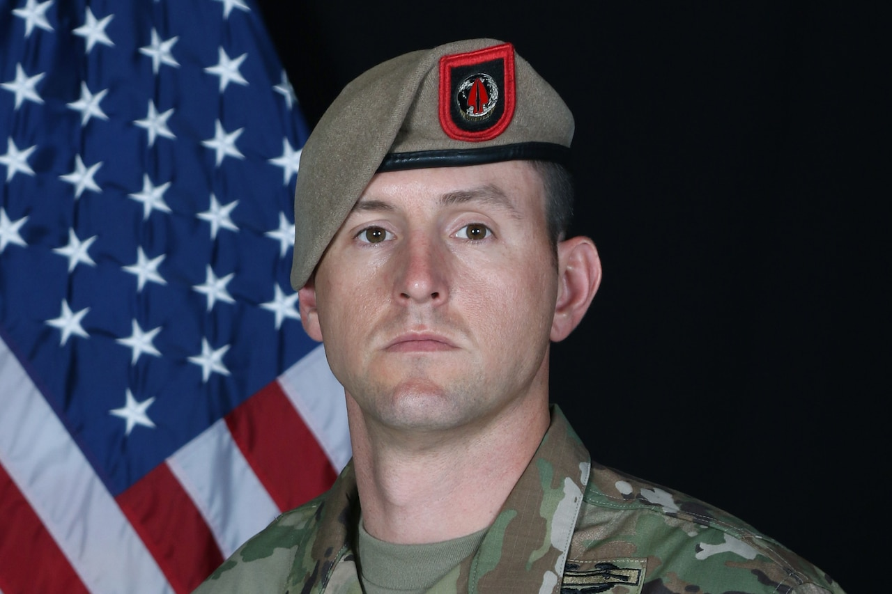 "A picture of Army Sgt. Maj. Thomas ""Patrick"" Payne."
