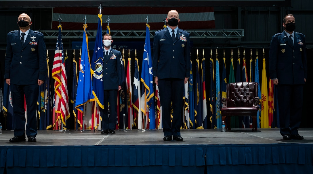 Air Force Life Cycle Management Change of Command Ceremony on September 3, 202o at Wright_Patterson Air Force Base, Ohio.