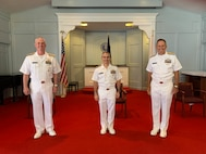 Naval Information Warfare Development Command (NIWDC) held a change of command ceremony 31 July.