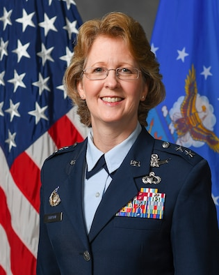 This is the official portrait of Maj. Gen. Donna D. Shipton.