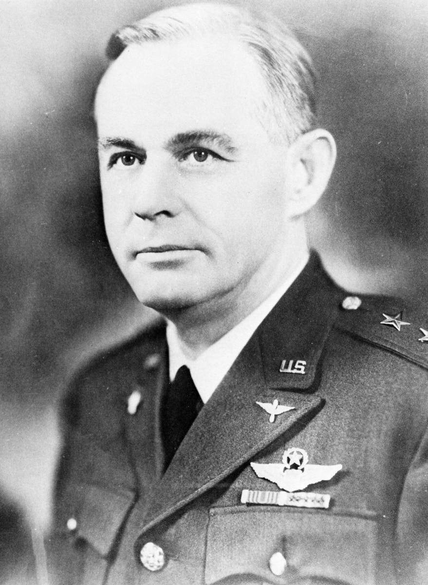 This is the official portrait of Maj. Gen. Oliver P. Echols.