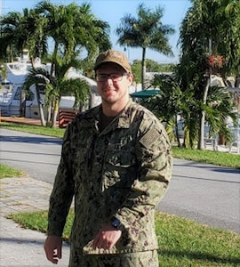 Photo of for Information Systems Technician 2nd Class Ian McKnight.