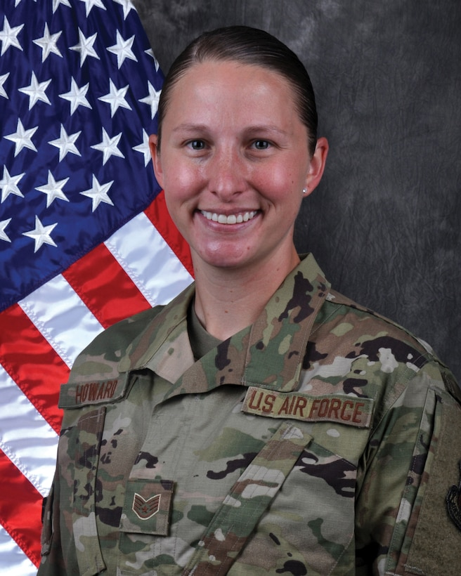 Staff Sgt. Lauren Howard, aircraft guidance/control system, 445th Aircraft Maintenance Squadron, is the 445th Airlift Wing Airman of the Quarter, second quarter CY 2020.
