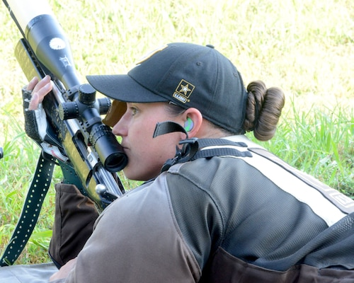 Staff Sergeant Amanda Elsenboss, U.S. Army Marksmanship