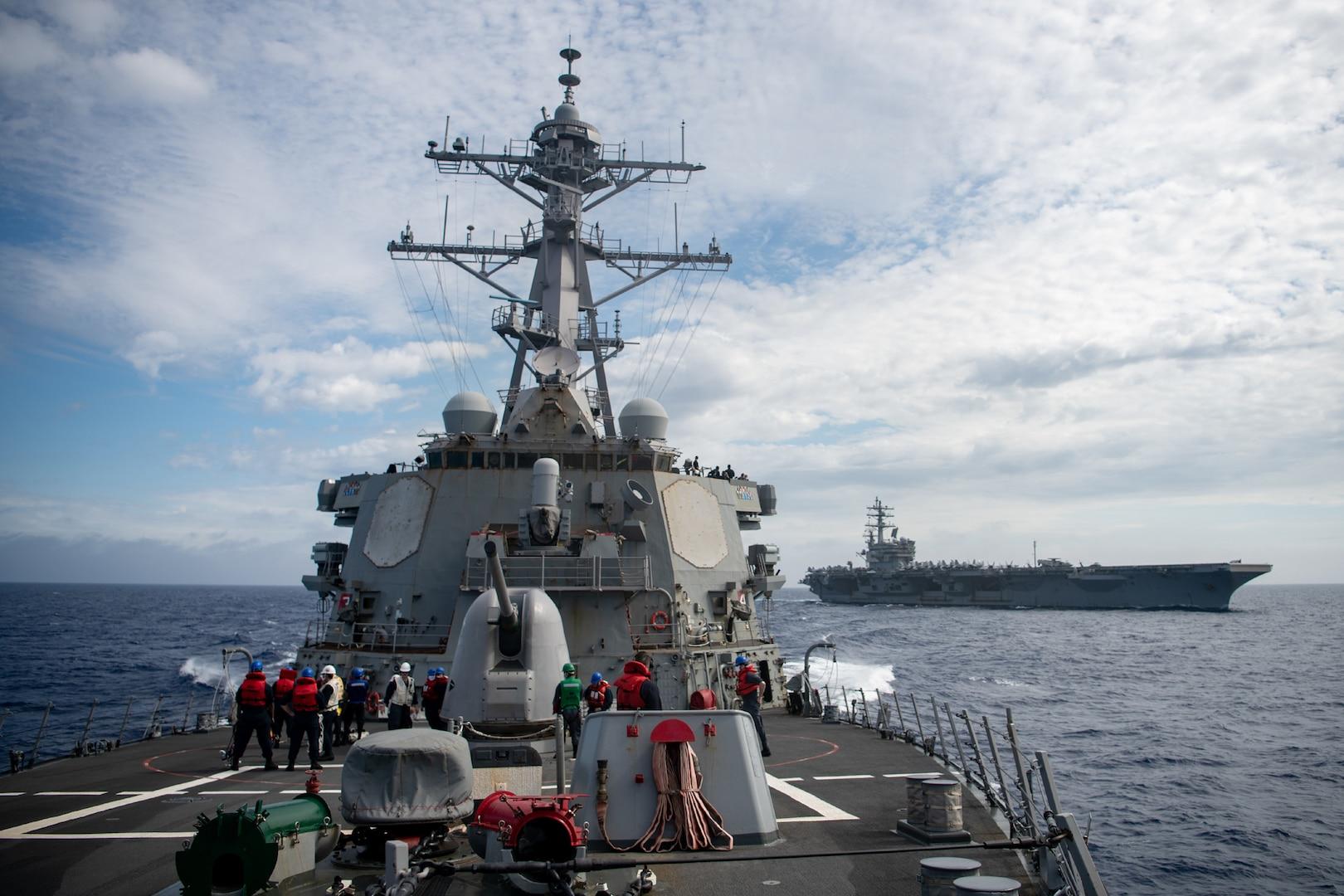 U.S. Navy joins Australia, Japan, Republic of Korea for Multinational Group Sail