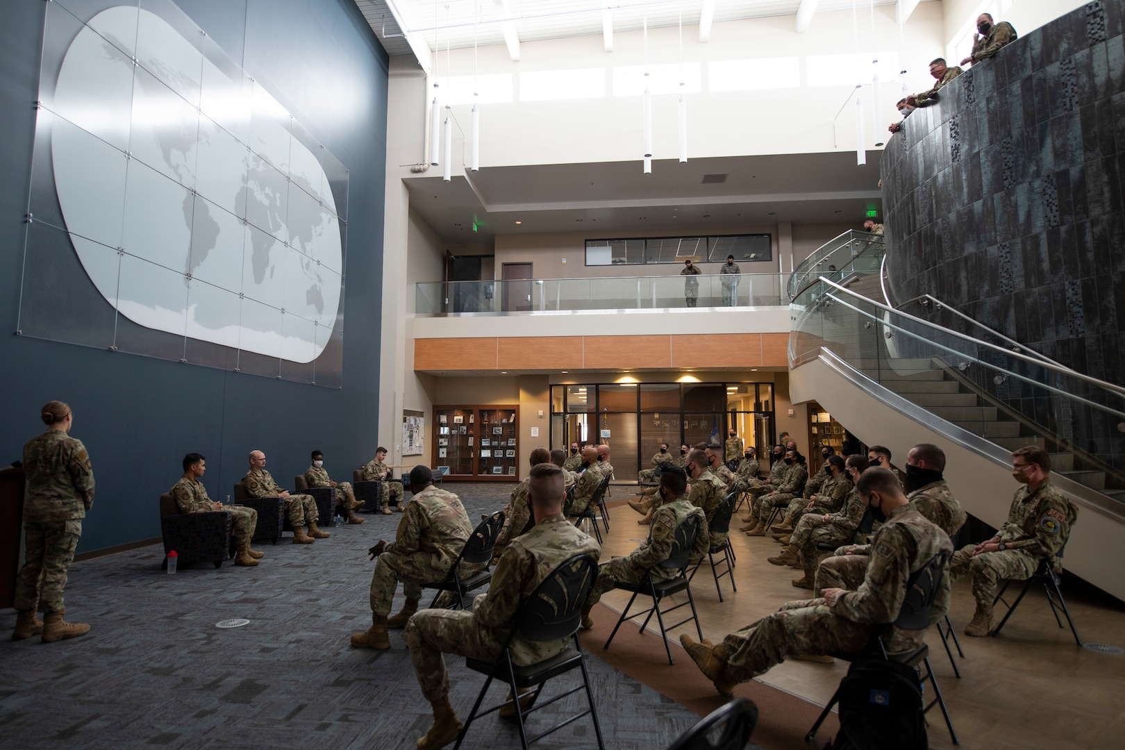 The 16th Space Control Squadron holds a heritage panel Aug. 21, 2020 on Peterson Air Force Base, Colorado.