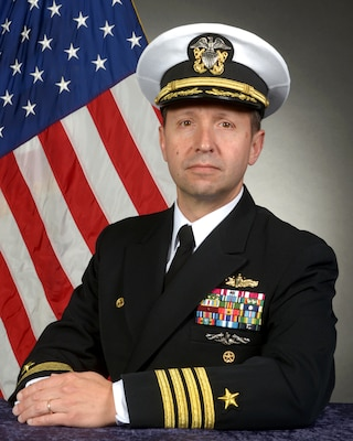 Official portrait of Captain Dave Stoner