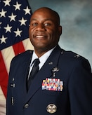 Col. Todd E. Randolph's official photo at Cannon Air force Base, N.M., July 7, 2020.