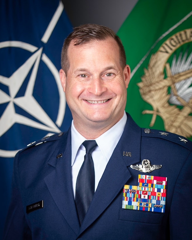 This is the official portrait of Maj. Gen. Phillip Stewart.