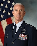 Col Bernabe Whitfield's official photo at Cannon Air Force Base, N.M., Aug. 5, 2020.