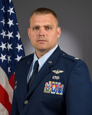 Lt. Col. Jason Figley Official Photo