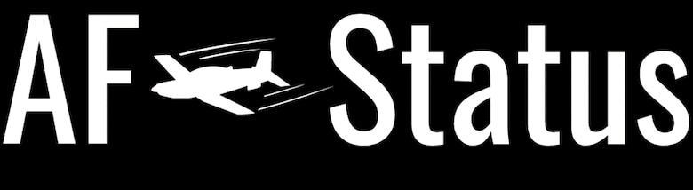 The AF Status application logo. The AF Status is an application made by Capt. Mckenzie Kane, 50th Flying Training Squadron instructor pilot, used at the 50th Flying Training Squadron and Vance Air Force Base for quickly disseminating current airfield status information to aid pilots in faster and more efficient communication. (Courtesy graphic)