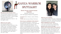 September KANZA Warrior Spotlight