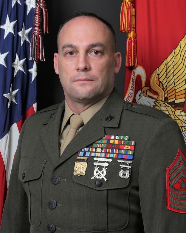 Sergeant Major Chad M. Coston