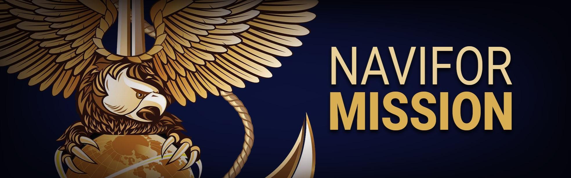 NAVIFOR Mission Banner